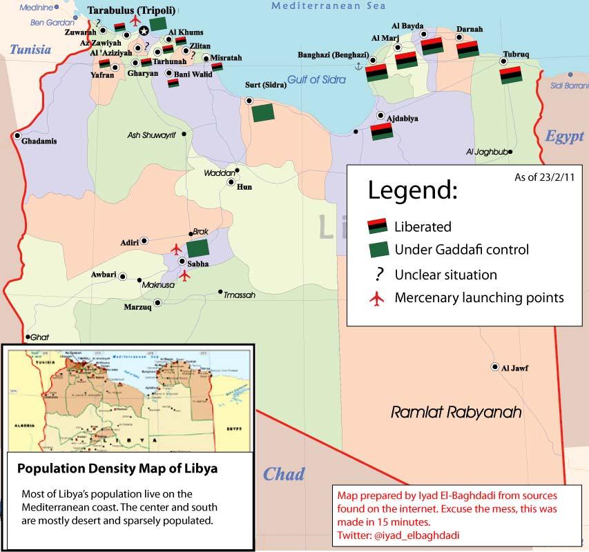 Libya Divided